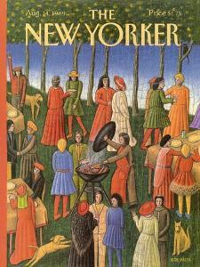 The New Yorker Cover - August 14, 1989 by Bob Knox