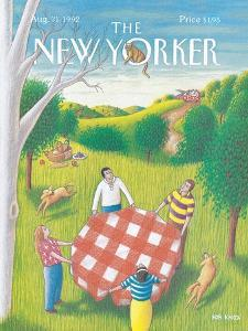 The New Yorker Cover - August 31, 1992 by Bob Knox