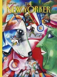 The New Yorker Cover - February 8, 1993 by Bob Knox