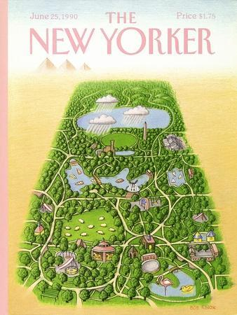 The New Yorker Cover - June 25, 1990