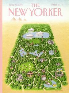 The New Yorker Cover - June 25, 1990 by Bob Knox