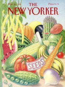 The New Yorker Cover - March 26, 1990 by Bob Knox