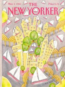 The New Yorker Cover - May 2, 1988 by Bob Knox