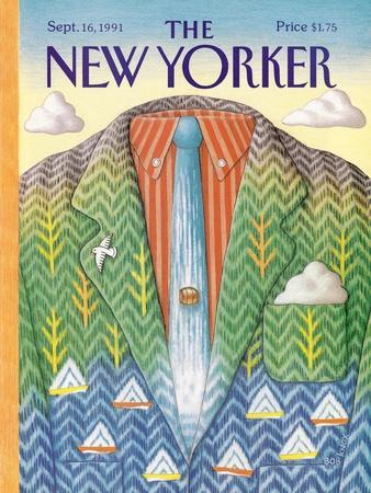 The New Yorker Cover - September 16, 1991