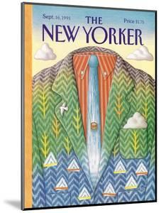 The New Yorker Cover - September 16, 1991 by Bob Knox