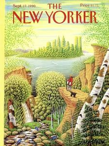 The New Yorker Cover - September 17, 1990 by Bob Knox