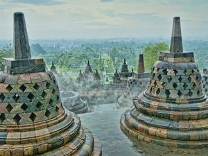 Borobudur on Java by Bob Krist