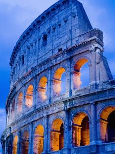 Colosseum at Dusk by Bob Krist