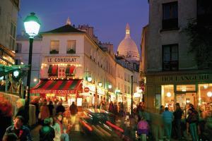 Montmartre Evening by Bob Krist