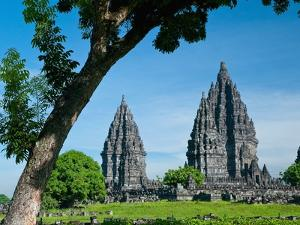 Prambanan Temple on Java by Bob Krist