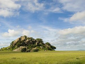 Rock Formations in Serengeti National Park by Bob Krist