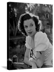 Actress and Singer Judy Garland by Bob Landry