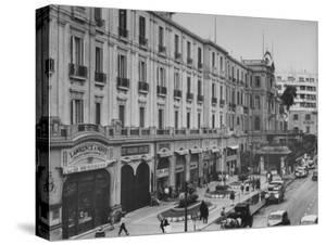 Exterior View of Shepheard's Hotel by Bob Landry