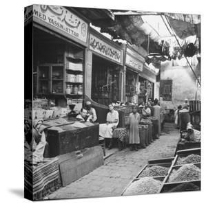 General View of Bazaar Quarter by Bob Landry