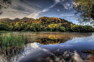 Basin Reflect by Bob Larson