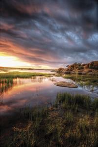 Cloudy Calm by Bob Larson