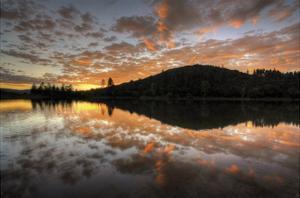 Sunset Splatter by Bob Larson