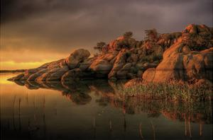 Willow Rock by Bob Larson