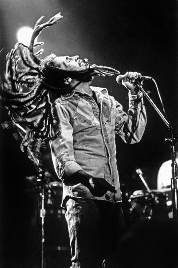 Bob Marley En Concert De Reggae Au Roxy, Los Angeles Le 26 Mai 1976--Photo