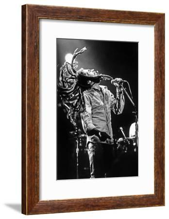 Bob Marley En Concert De Reggae Au Roxy, Los Angeles Le 26 Mai 1976--Framed Photo