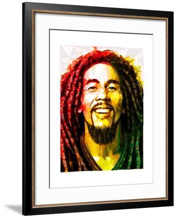 Bob Marley-Enrico Varrasso-Framed Art Print