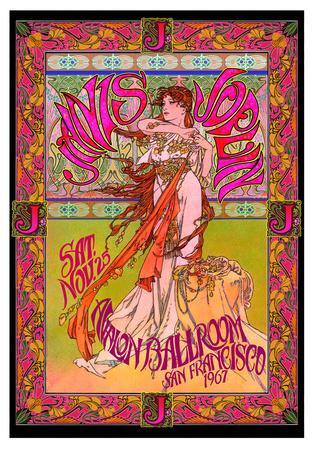 Janis Joplin, Avalon Ballroom, San Francisco 1967