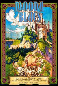 Moody Blues in Concert by Bob Masse