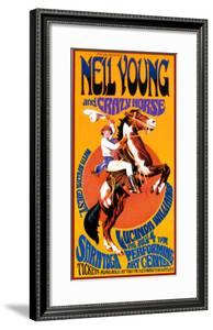 Neil Young and Crazy Horse in Concert by Bob Masse