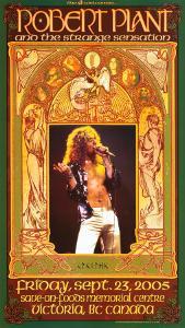 Robert Plant Victoria Concert by Bob Masse