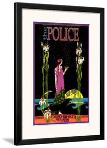The Police in Concert, Commonwealth Stadium, Edmonton, Alberta by Bob Masse
