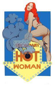Hot Woman by Bob Pardo