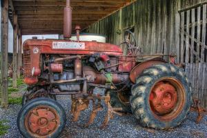 farmall tractor by Bob Rouse