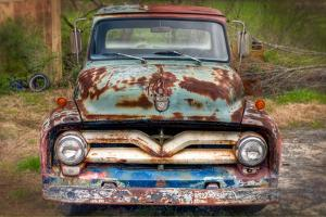 Ford Truck Front by Bob Rouse