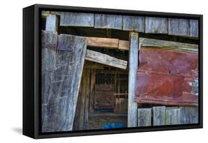 Range Barn Doorway by Bob Rouse