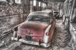 Red Ford BW by Bob Rouse