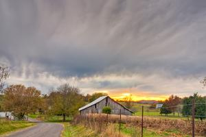 Tennessee Sunset by Bob Rouse