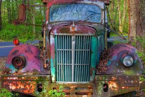 Tow Truck Front by Bob Rouse