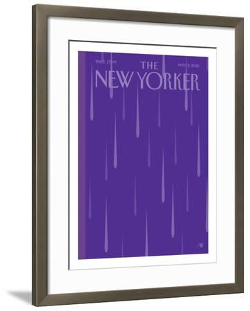 Prince Purple Rain New Yorker - Signed Limited Edition Cover – by Bob Staake – May 2, 2016