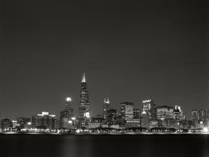Downtown Chicago I by Bob Stefko
