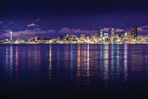 Seattle Skyline I by Bob Stefko