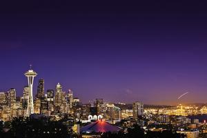 Seattle Skyline II by Bob Stefko