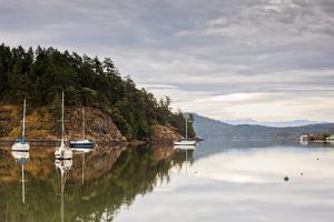 Sooke Harbor I by Bob Stefko