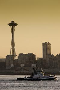 Space Needle IV by Bob Stefko