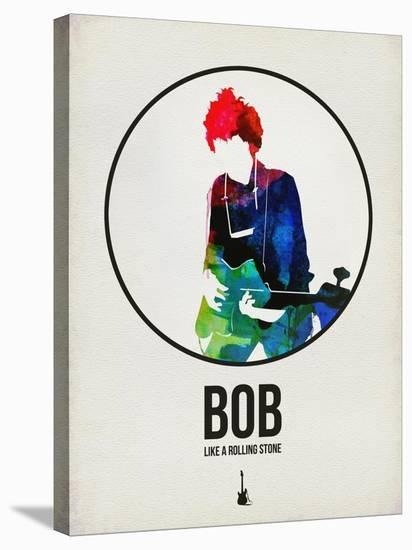 Bob Watercolor-David Brodsky-Stretched Canvas Print