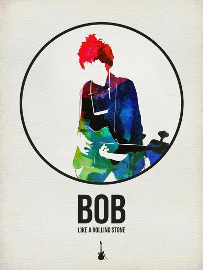 Bob Watercolor-David Brodsky-Art Print