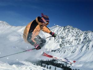 Skiing at Arapahoe Basin, CO by Bob Winsett