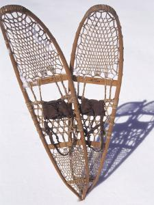 Snowshoes and Shadows, Breckenridge, CO by Bob Winsett