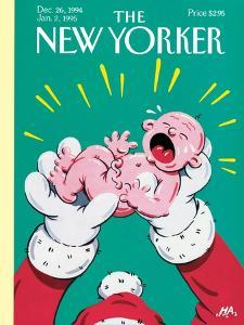 The New Yorker Cover - December 26, 1994 by Bob Zoell (HA)