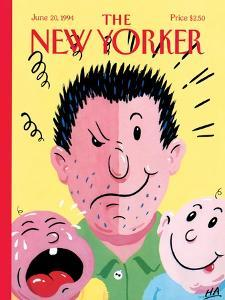 The New Yorker Cover - June 20, 1994 by Bob Zoell (HA)