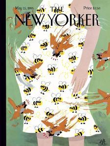 The New Yorker Cover - May 15, 1995 by Bob Zoell (HA)